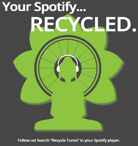 spotify recycle