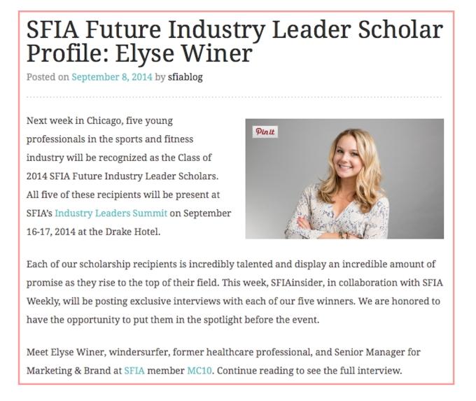 Elyse Congrats